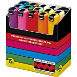 Uni-POSCA PC8K15C Paint Marker Pen Bold Point Set of 15 (Japan Import)