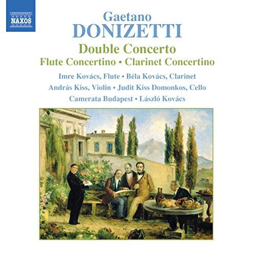 izetti: Double Concerto / Flute Concertino / Clarinet Concertino ()