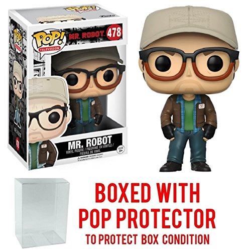 Funko Pop  Tv  Mr  Robot   Mr  Robot Vinyl Figure  Bundled With Pop Box Protector Case