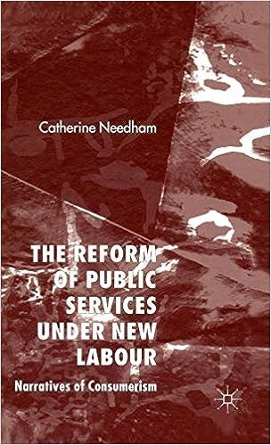 The Reform of Public Services Under New Labour: Narratives