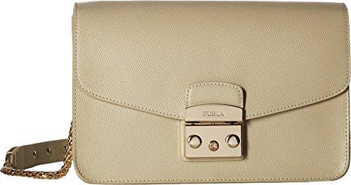 Furla Women's Metropolis Small Shoulder Bag Creta Handbag