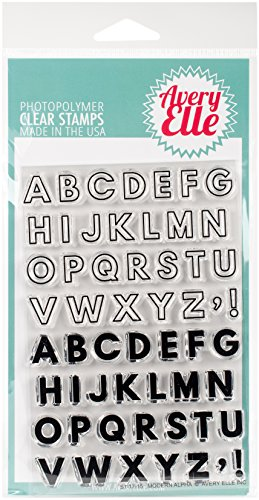 Avery Elle ST-17-15 Clear Stamp Set 4