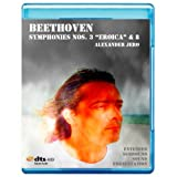 Beethoven: Symphonies Nos.3'Eroica' & 8 - The New Dimension of Sound Symphonic Series [7.1 DTS-HD Master Audio Disc] [BD25 Audio Only] [Blu-ray]