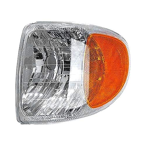 Replacement Parking and Signal Lamp Front Left Fits Mercury Mountaineer - Signal Lamp Left Parking