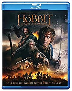 Cover Image for 'The Hobbit: The Battle of the Five Armies (Blu-ray + DVD + Digital HD UltraViolet Combo Pack)'