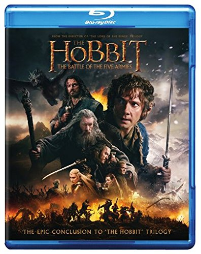 Blu-ray : The Hobbit: The Battle of the Five Armies (With DVD, 2 Disc)