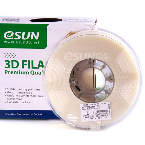 eSUN 1 75mm Natural Printer filament