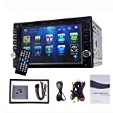 indash car stereo back up camera - YODY Double Din Car DVD Player 6.2