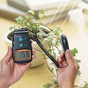 Beslands Digital Luxmeter Light Meter LX-1010B with LCD Display 0-50,000 Lux Range (with 9V Battery)