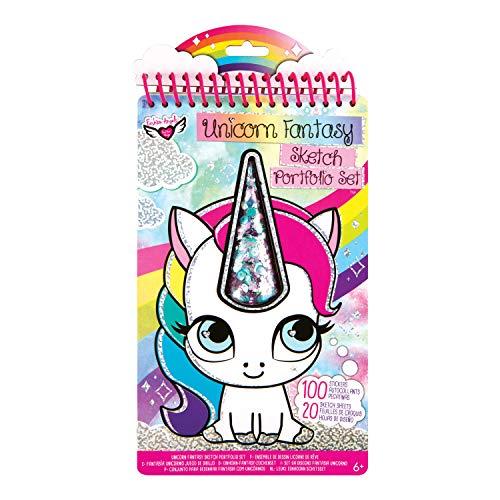 Unicorn Fantasy Compact Sketch Portfolio -