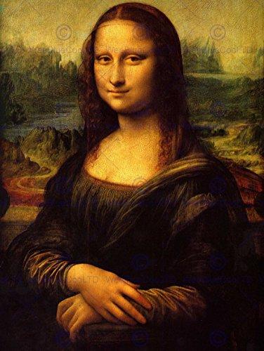 LEONARDO DI SER PIERO DA VINCI MONA LISA OLD MASTER ART PAINTING PRINT 1888OM ()