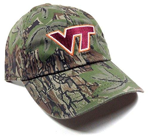 Concealer Virginia Tech Hokies Solid Camo Adjustable Hat