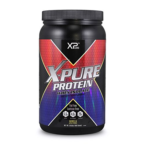 X-PURE WHEY Protein Isolate Vanilla 840GM