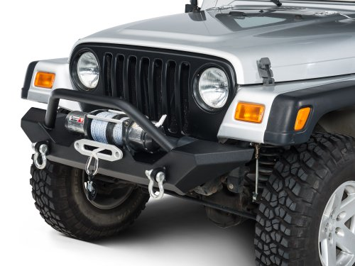 Barricade Trail Force HD Front Bumper Jeep Wrangler YJ & TJ - Front Bumper 1989