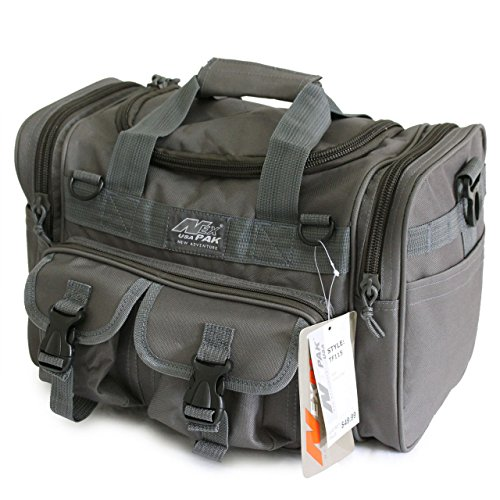 "15"" Mens Military Molle Tactical Gear Duffle Range Shoulder Strap Travel Bag TF115 GMG Gunmetal Grey"