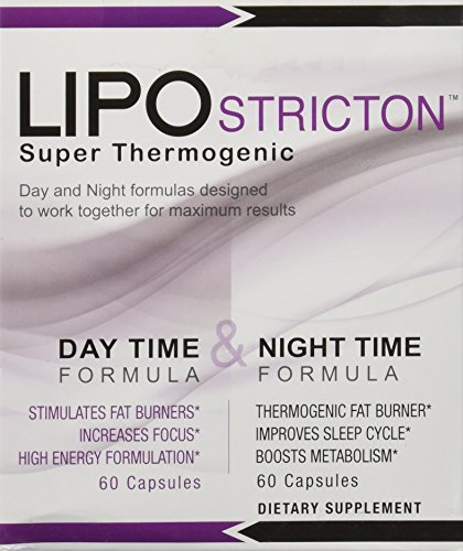 Rightway Nutrition - LIPO Stricton Super thermogène - 120 Capsules