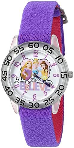 Disney Cinderella Kids' W002948 Cinderella Analog Display Analog Quartz Purple Watch