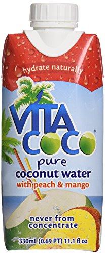 Vita Coco Coconut Water with Peach and Mango, 11.16 oz