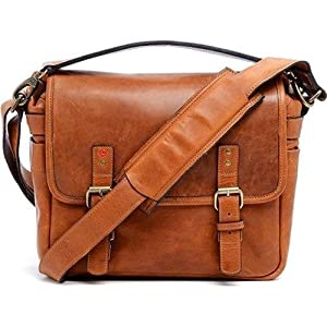 ONA - The Berlin II - Camera Messenger Bag - Vintage Bourbon Leather (ONA5-028TN-2)