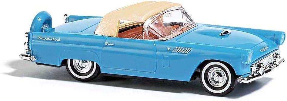 Blau Busch 45239 Ford Thunderbird Cabrio Geschlossen