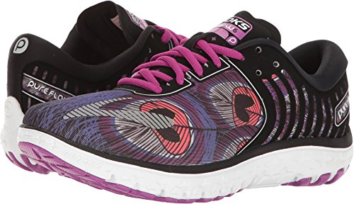 Brooks Women's PureFlow 6 Black/Anthracite/Silver 9 B US