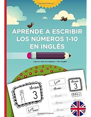 APRENDE A ESCRIBIR LOS NÚMEROS 1-10 EN INGLÉS, learn to write the numbers