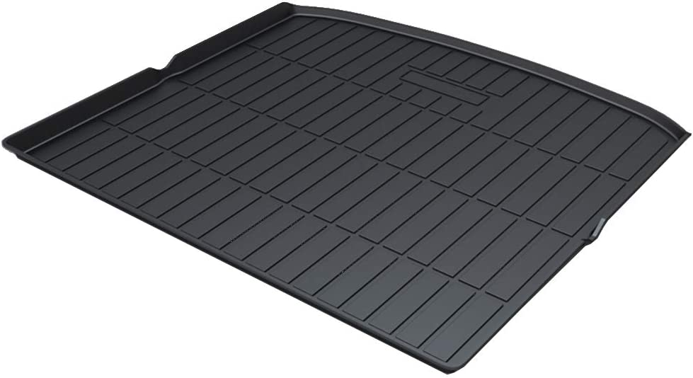 Cqlights Edge Cargo Liner for Ford Edge 2007-2014 Trunk Liner Tray Heavy Duty Rubber Rear Cargo Area Mat Waterproof Protector Floor Mat Black