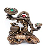 GL&G High-end Jade wishful Decoration Home living room Lucky study Decorations Creative Wedding Gifts Tabletop Scenes Ornaments Sculptures High-end Business gift,331836 cm