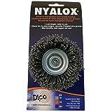 Dico 541-774-21/2 Nyalox Cup Brush 21/2-Inch Grey 80 Grit