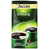 Jacobs Kronung Coffee, 17.6-Ounce Vacuum Packs (Pack of 3)