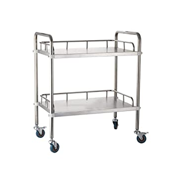 Medical trolley Carro MéDico, Acero Inoxidable, para Uso ...