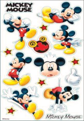 Classic Mickey Mouse Stickers