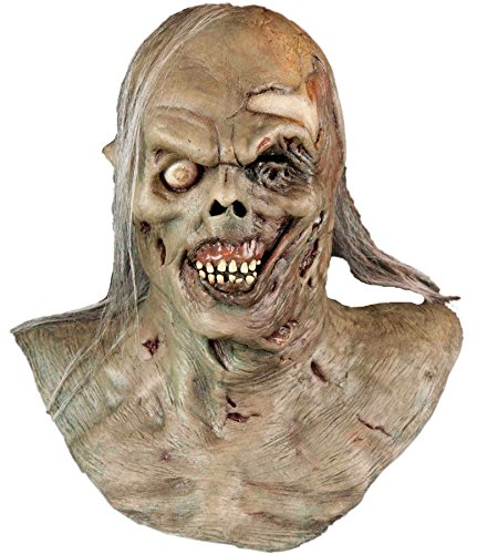 Water Zombie Rotting Undead Corpse Scary Latex Adult Halloween Costume (Latex Spiderman Mask)