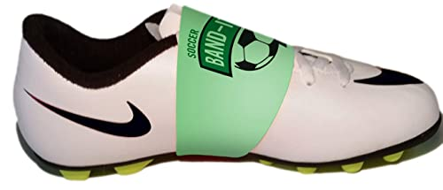 Amazoncom Soccer Band Its Shoe Lace Bands For Cleats Green