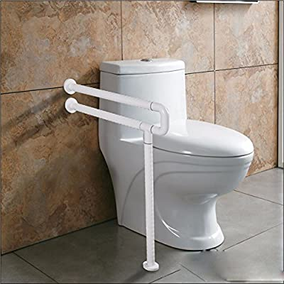 OLQMY-Old man friend Bathroom Bathroom handrail handrail for the disabled for the elderly slip u-ground toilet handrail
