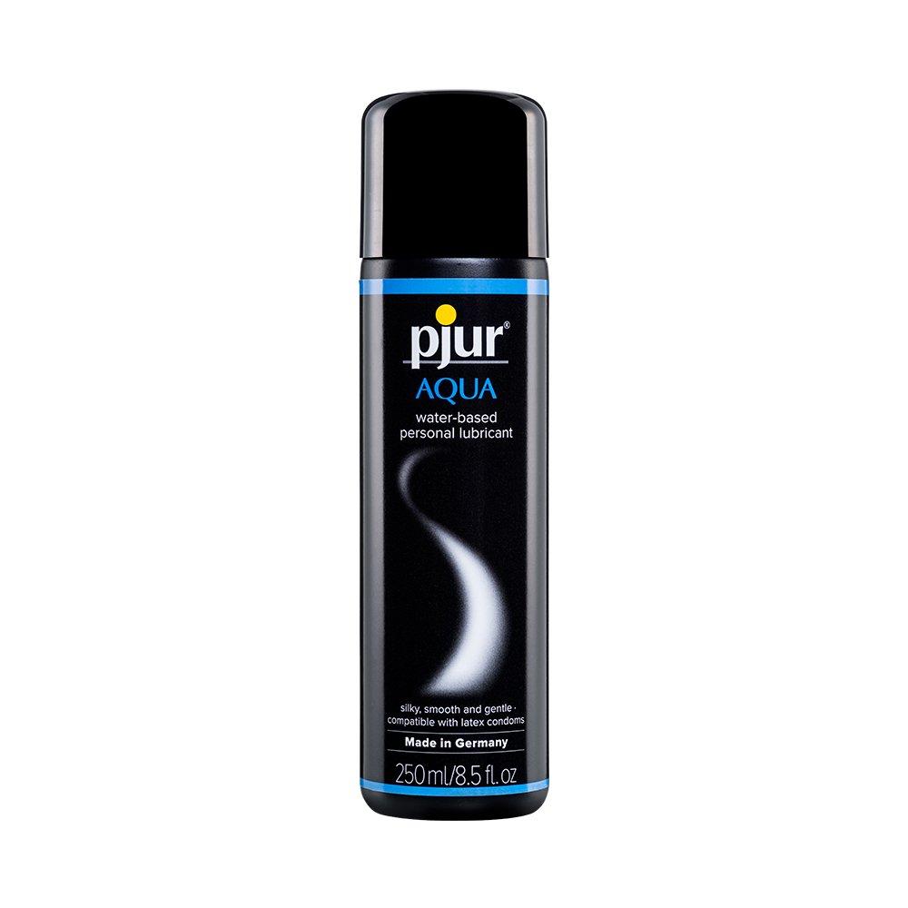 Pjur Aqua Premium Water-Based Personal Lubricant 8.5 Fluid Ounce / 250 Milliliter
