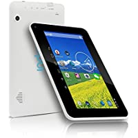 Indigi 7-in Tablet PC Android 4.2 Free 32GB Micro SD WiFi Premium Leather Back