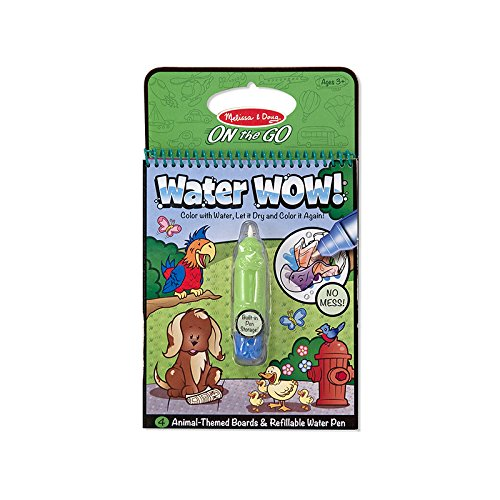 MELISSA & DOUG WATER WOW - ANIMALS (Set of 24)