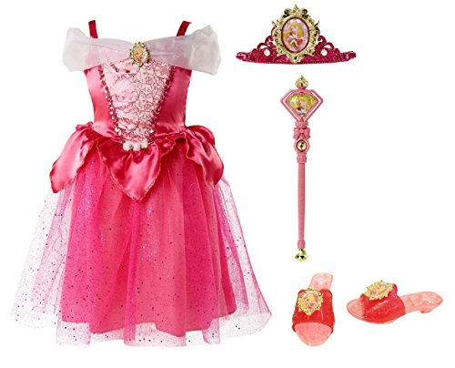 Disney Princess Sleeping Beauty Dress Up Costume Set 4-6X - Sleeping Beauty Aurora Wand