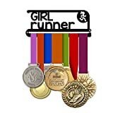 Girl Runner 8'' - Running Medal Hanger