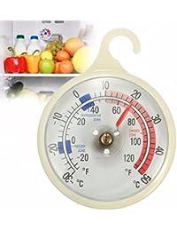 PickUp -30-50°C/-20-120°F Hanging Hook Mounted Fridge Freezer Thermometer Kitchen Tools saleoff