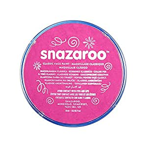 Snazaroo Classic Face Paint, 18ml, Bright Pink