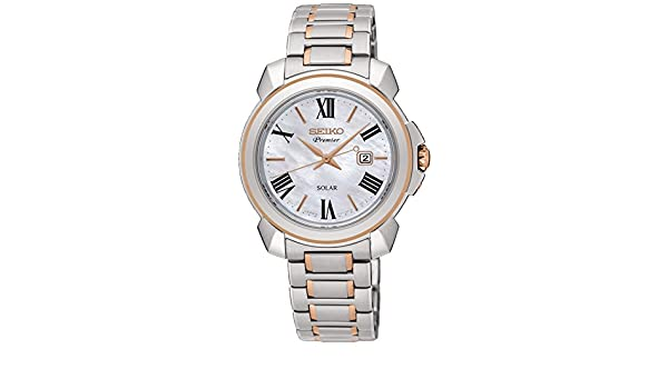 Amazon.com: Seiko premier SUT322P1 Womens automatic-self-wind watch: Seiko: Watches