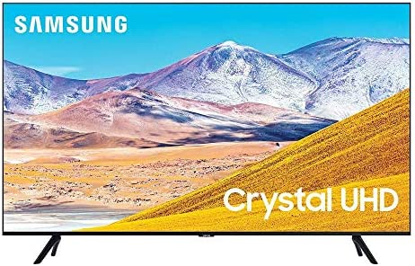 """Samsung UN75TU8000 75"""" 8 Series Ultra High Definition Crystal 4K Smart TV with an Additional 4 Year Coverage by Epic Protect (2020)"""