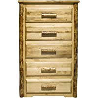 Montana Woodworks MWGC5D Glacier Country Collection 5-Drawer Chest of Drawers