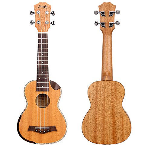 Beautiful Mahogany Ukulele with case