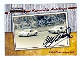 Richard Petty and Cale Yarborough autographed trading card (Auto Racing Hall of Famers) 2010 Press Pass No.59