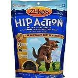 Zuke's Hip Action Natural Dog Treats, Peanut Butter, 1lb ( Multi-Pack)