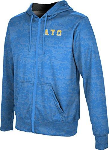 - Alpha Tau Omega Men's Zipper Hoodie, School Spirit Sweatshirt (Digital) 30664