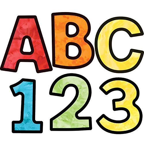Carson Dellosa Celebrate Learning Watercolor Combo Pack EZ Letters -